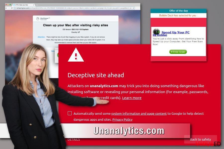 Unanalytics.com reklaamvara