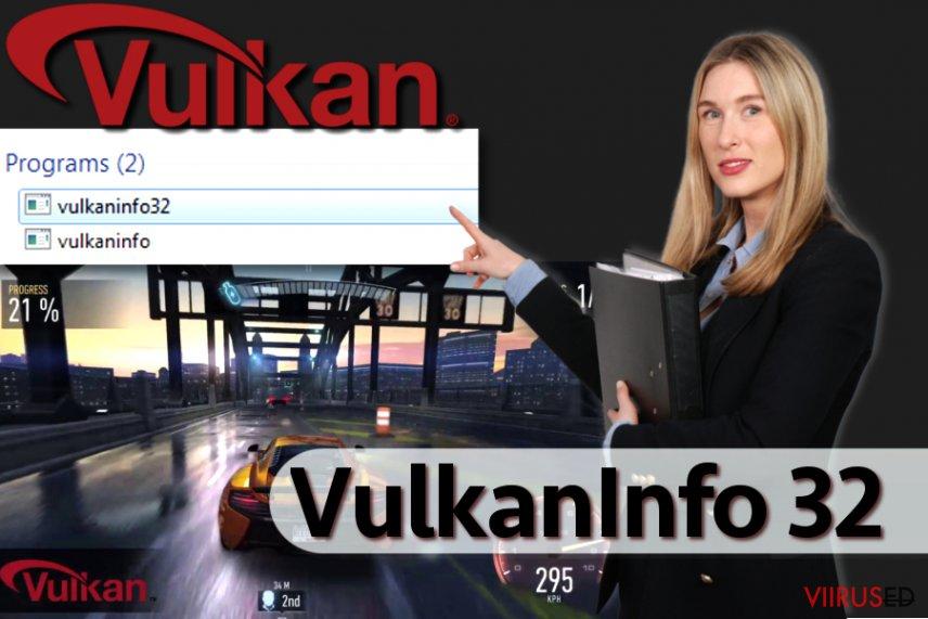 Vulkaninfo tarkvara