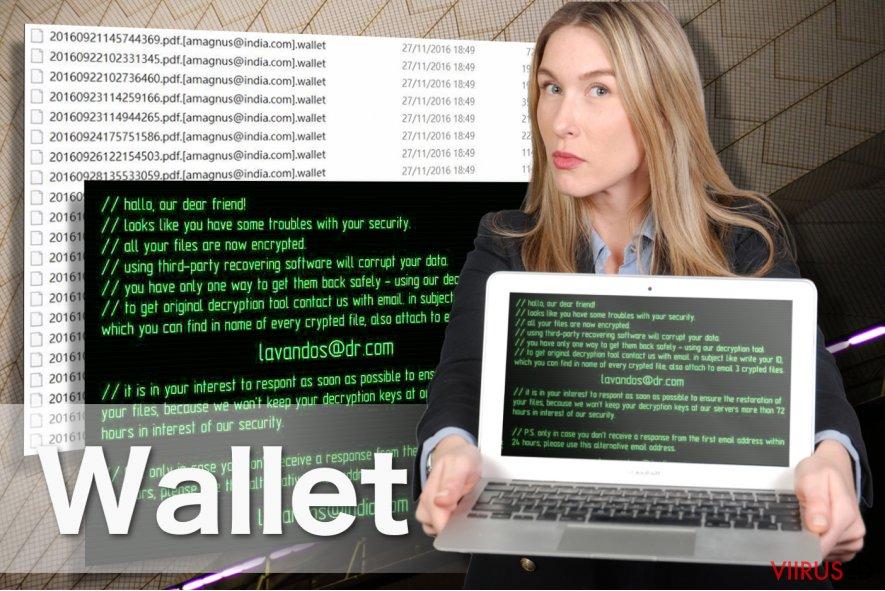 Wallet lunavaraviiruse pilt