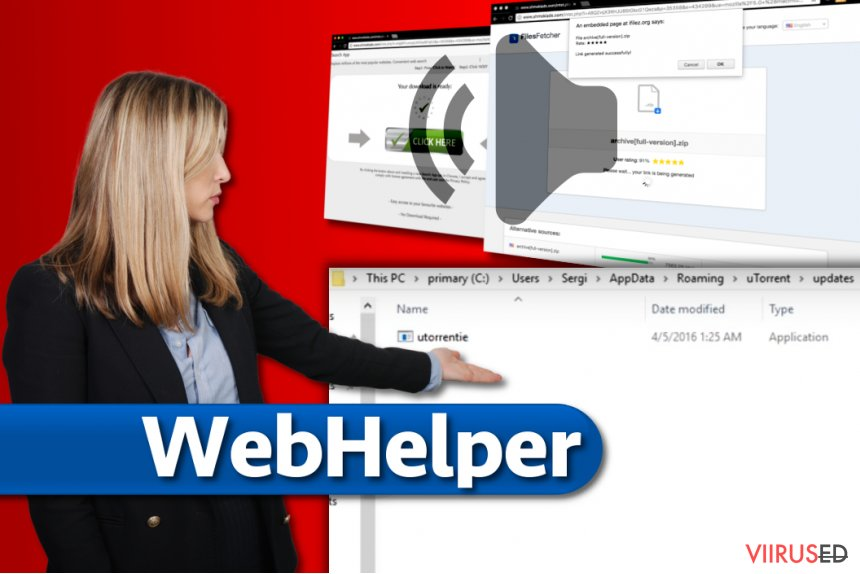 WebHelper viirus