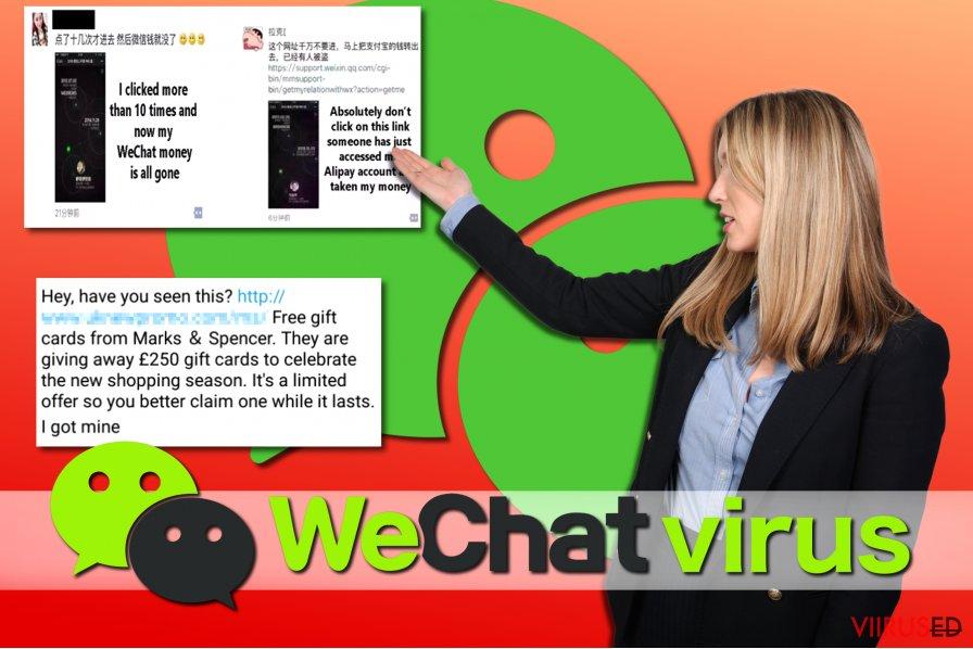 WeChat viiruse näited