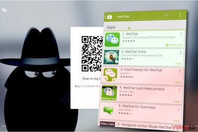 WeChat viirus