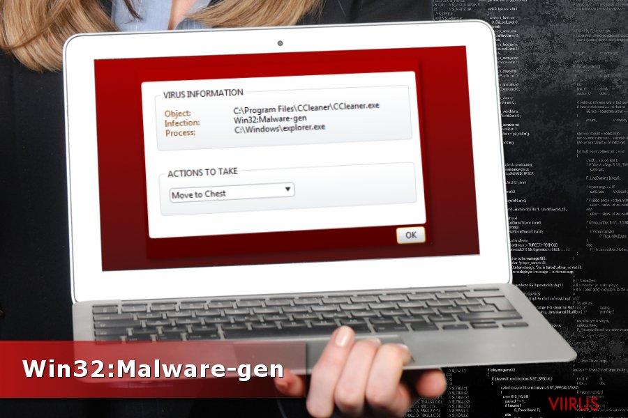 Win32:Malware-gen tuvastamine