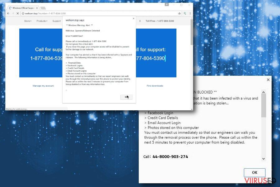 Windows Warning Alert pettuse pilt