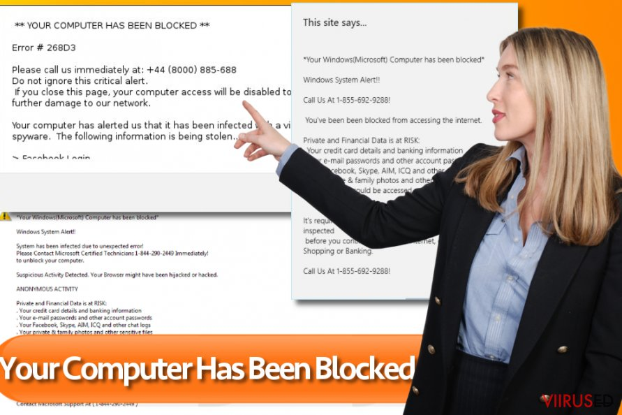 Your computer has been blocked