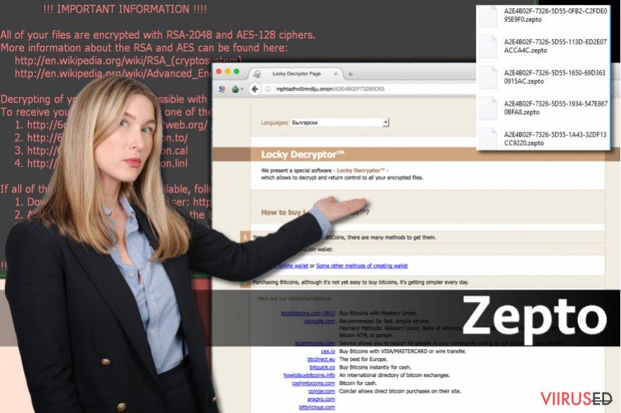 Zepto viirus hetktõmmis