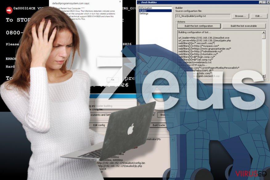 Pilt Zeus viirusest